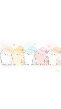 Bear Wallpaper, Kawaii Wallpaper, Cute Wallpaper Backgrounds, Cute Wallpapers, Phone Wallpapers, Cute Screen Savers, Fluffy Cat, Cute Drawings, Cute Pictures