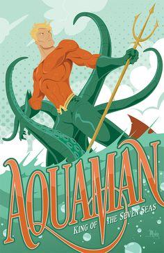 Aquaman by MikeMahle.deviantart.com on @deviantART