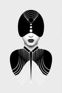Great series of digital illustrations by Nikoloz Bionika, a multi-disciplinary graphic designer based in Tbilisi, Georgia.  More digital artworks via Behance