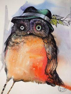"""""""Owl"""" par Oxana Zaika"""