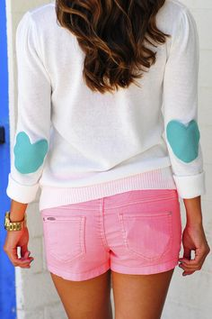 Bottom Of My Heart Sweater: Teal