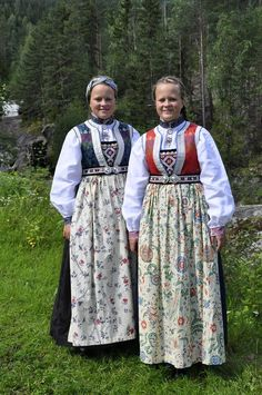 Folk Costume, Costume Dress, Costumes, North Europe, Folk Embroidery, Bridal Crown, Unique Dresses, Traditional Outfits, Norway