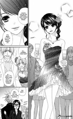 her dress is SSSOOOOO CUUUTTTEEEE!!!!!!!!!!!!!!!!!! although it's kinda short... i really LOVED this and the next chapter!  -- Dengeki Daisy