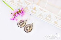 Mothers day gift, Charm earrings, Hoop earrings, Teardrop earrings, Silver earrings, Hoops, Short earrings, Gift, Dangle drop earrings https://etsy.me/2HhhSlr #jewelry #earrings #silverearrings #teardrop #geometricearrings #minimalistearrings #dangledropearrings