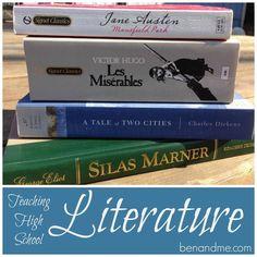 Teaching High School Literature #homeschool