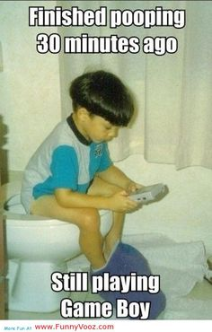 nice still playing game boy - canada funny pictures
