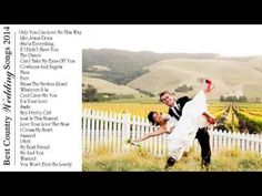 Best Country Wedding Songs 2014