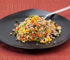 Riz frit aux légumes