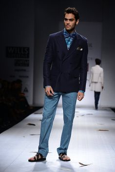 Ashish N Soni Menswear - Wills India Fashion Week #Trends #Tendencias #Moda Hombre