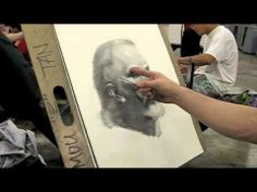 90 minutes portrait demo by Zimou Tan