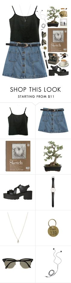 """in the midst of it all"" by beachy-palms ❤ liked on Polyvore featuring Chicnova Fashion, Polaroid, Crate and Barrel, Windsor Smith, Ole Mathiesen, ASOS, Jayson Home, Ray-Ban and Diane Von Furstenberg"