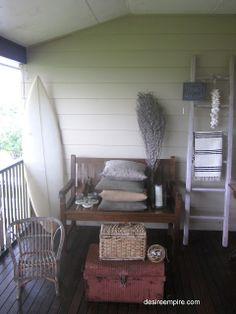 Tropical Rustic Beach House Decor