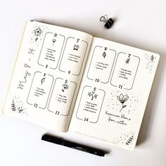 "Polubienia: 255, komentarze: 9 – Moonlight Cabin (@moonlight_cabin) na Instagramie: ""My second weekly spread for May is ready to go! . . . . #bulletjournal #bulletjournaling…"""