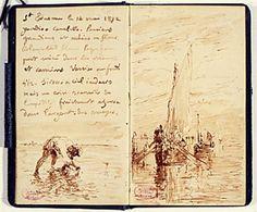 Picasso's sketchbook