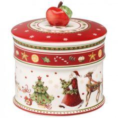 Winter Bakery Delight Caja de galletas, pequeña 12x11cm - Villeroy & Boch