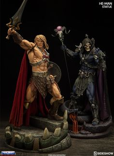 The He-Man Statue by Sideshow Collectibles is now available at Sideshow.com for fans of Masters of the Universe.
