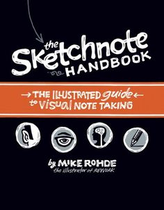 The Sketchnote Handbook: the illustrated guide to visual note taking by Mike Rohde http://www.amazon.com/dp/0321857895/ref=cm_sw_r_pi_dp_H-LPvb14TCRTB