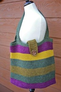 Carry Me Away Tote Bag Free Crochet Pattern with Video Tutorials