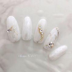Bride Nails, Wedding Nails, Chic Nails, Pretty Nail Art, Nail Inspo, Nails Inspiration, Nail Art Designs, Beauty Hacks, Wedding Planning