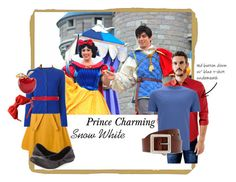 DisneyBound: Snow White and Prince Charming Disney Costumes, Disney Outfits, Disney Fashion, Drunk Disney, Snow White Prince, Theme Park Outfits, Disney Cruise, Walt Disney, Casual Cosplay