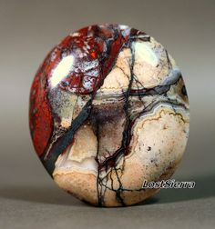 Sedona Agate w/Hematite by LostSierra, via Flickr