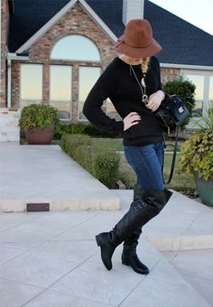 Stylelista Confessions in Deb Shops boots