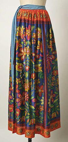 Skirt (Wrap), Giorgio di Sant'Angelo, 1969, American, synthetics