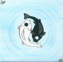 deviantART: More Like Yin Yang Koi Fish by ~Putekatt