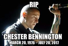 Chester Bennington and Linkin Park shaped alternative music since the early and have been a huge impact. You will forever be missed Chester, rest in paradise. Kinds Of Music, Music Love, Music Is Life, My Music, Chester Rip, Linkin Park Chester, Chester Bennington, Love Band, Cool Bands