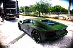 Lamborghini. This color is disgustingly awesome. I want to paint my motorcycle this color.