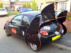 Batmobile by Ford. Lol oh I find the so cool and hilarious. Haha