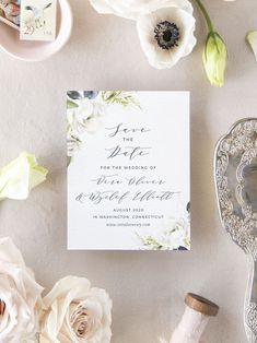 Oil Paint Texture Wedding Save the Date Cards Vintage Save The Dates, Rustic Save The Dates, Floral Save The Dates, Luxury Wedding Invitations, Elegant Invitations, Wedding Stationary, Paint Texture, Texture Painting, Save The Date Magnets