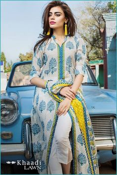 Lawn Dresses Pakistani Lawn 2019 Designer Lawn Suits Festive Mid Summer Fall and Winter Trajes Pakistani, Pakistani Formal Dresses, Pakistani Dress Design, Pakistani Outfits, Indian Dresses, Indian Outfits, Pakistani Lawn Suits, Pakistani Fashion Party Wear, Indian Fashion