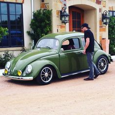Awesome Green VW Looker