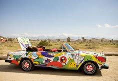 Unique cars you have to see to believe. Car Paint Jobs, Weird Cars, Crazy Cars, Car Drawings, Cute Cars, Unique Cars, Car Painting, Car Wrap, Rolls Royce
