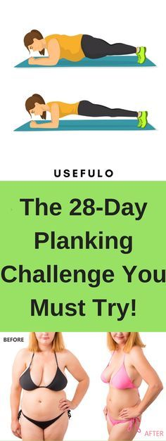 The 28-Day Planking Challenge You Must Try!