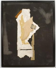 Post-War Design American picture abstract oil