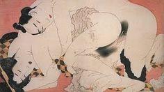 葛飾北斎 忍ぶ恋 Hokusai Katsushika Love that endure