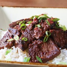 "Bulgogi Beef (Korean-Style Barbecue) I ""This is a very good recipe. I have never found Korean red pepper, so I use 1/2 tsp. crushed red peppers, instead."""
