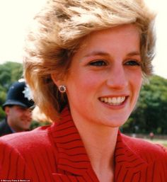 Young Princess Diana, by Colin Edwards. 'I never expected that my experiences would be turned into a book,' he says. 'I just want people, royalists like myself, to enjoy it'
