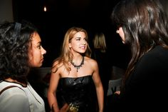 Film premiere after party for Serendipity Point Films' 'Below Her Mouth' at Supper Suite by STK on September 10, 2016 in Toronto, Canada.