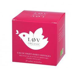 Løv Organic Tea - WILD BERRY FRUIT TEA