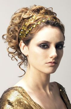 grecian hairstyles for long hair - Google Search