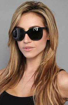 Ray Ban The Cats 1000 Sunglasses in Black