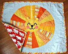 Love, Lizzie: Lion quilt