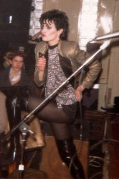 Original photos of Siouxsie in Leeds UK 1978.taken by hannah jones