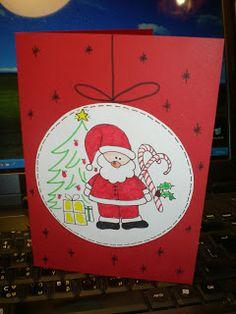 Βελόνα και κλωστή...: Χριστουγεννιάτικες κάρτες