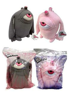 Neon-monster-plush-toys-in-bag
