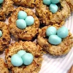 "Robin's Nests | ""I made these for Easter. They turned out super cute and are fairly good as far as taste!"""