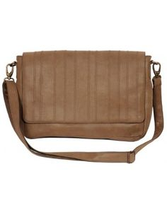Messenger Bag With Zig Zag Stitch On The Flap  http://www.goguava.com/men/accessories/bags